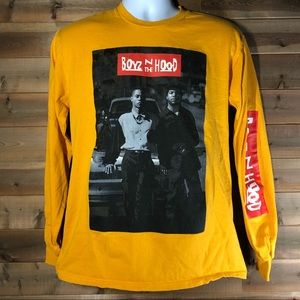 Philcos Boyz N The Hood Yellow Long Sleeve Shirt